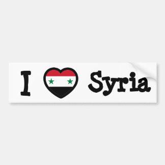 Syrien flagga bildekal