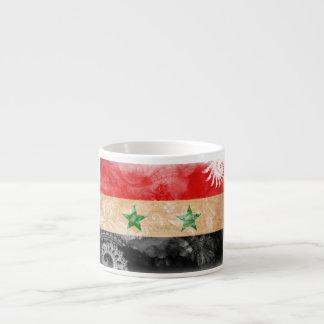Syrien flagga espressomugg