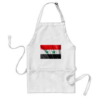 Syrien flagga förkläde