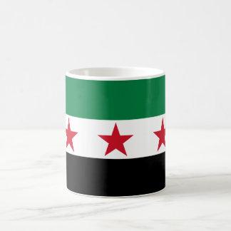 Syrien flagga kaffemugg