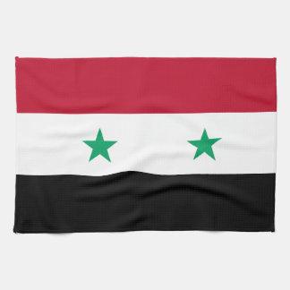Syrien flagga kökshandduk