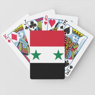 Syrien flagga kortlek