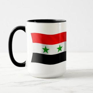 Syrien flaggamugg