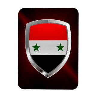 Syrien metallisk Emblem Magnet
