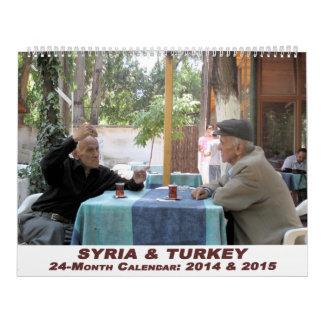 Syrien och Turkiet kalender - 24 månad