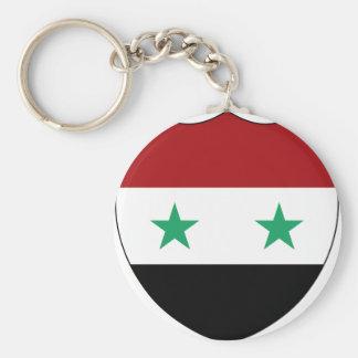 Syrien Rund Nyckelring