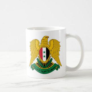 Syrien vapensköldmugg vit mugg