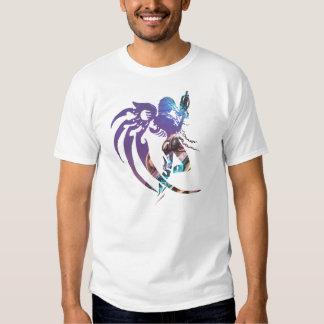 Syrinscape Sci-fi Techno T-tröja T Shirt