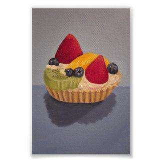 Syrlig målning för frukt fototryck
