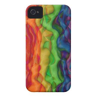 Syrlig resa Psychedlic för Hippy regnbåge iPhone 4 Cases