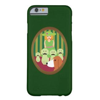 Syrran & P och de Mustached hundarna av gåta Barely There iPhone 6 Fodral