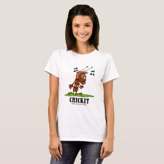 Syrsa vid Lorenzo kvinna T-tröja Tee Shirts