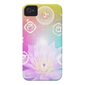 system för energi för aura för chakras för iPhone 4 case