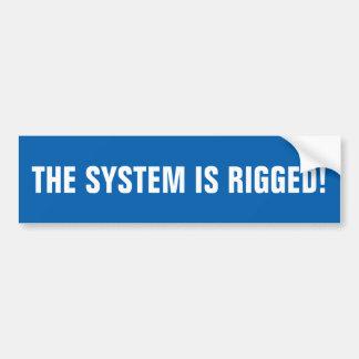 Systemet riggeds! bildekal