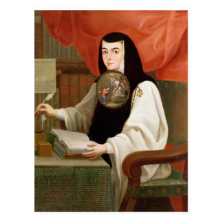 Syster Juana Ines de la Cruz Vykort