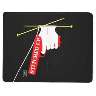 Sytt upp det stack vapnet anteckningsbok