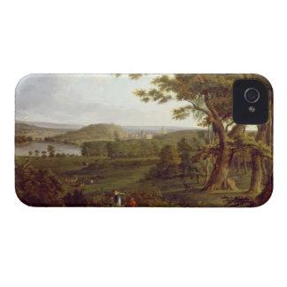 T31507 beskådar från northwesten av slottet iPhone 4 cases
