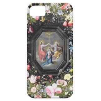 T33453 coronationen av oskulden som by omges iPhone 5 fodral