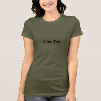 T för Tea Tee Shirts