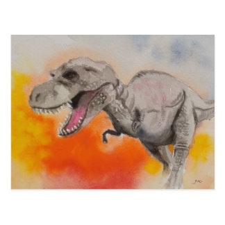 T-rex 1 vykort