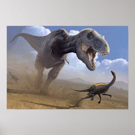 T Rex Print