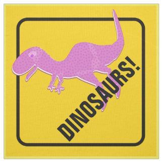 T-Rex akta sig Dinosaurs som att korsa Tyg