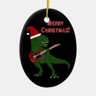 T-Rex Guitar Ornament