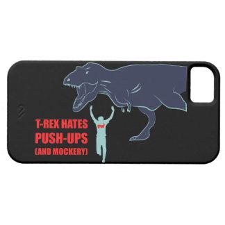 T-Rex hatar Pushups och gyckel iPhone 5 Hud