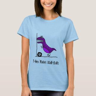 T-Rex hatar Wallballs Tshirts
