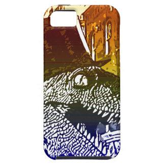 T-Rex i en tophat iPhone 5 Case-Mate Skydd