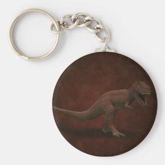 T Rex Keychain Rund Nyckelring