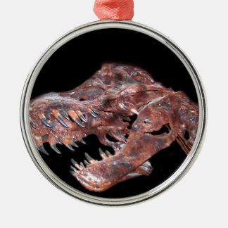 T-Rex skalle Julgransprydnad Metall