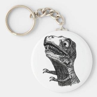 T-Rex ursinne Meme - Keychain Rund Nyckelring