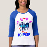 "T-Shirt♥♫ för baseball för ╚"" ♪♥LoveK-Pop T Shirts"
