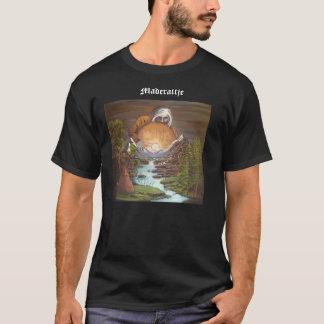 t-shirt med text och samiskt motiv!
