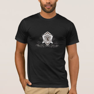 T-shirt  with Large Margfolket weapon shield