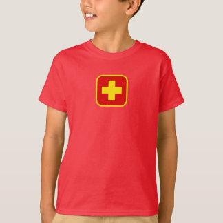T-skjorta för barnlivräddaresymbol tee shirts