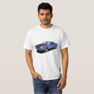T-skjorta för bil för blåttutmanareklassiker tshirts