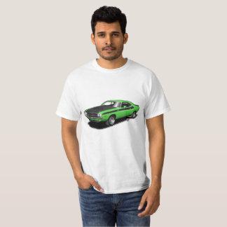 T-skjorta för bil för Kelly grön utmanareklassiker Tee Shirts