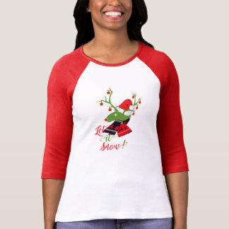T-skjorta för design för juldekorationren t shirt