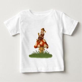 t-skjorta för giftsvampgnomespädbarn tee shirt