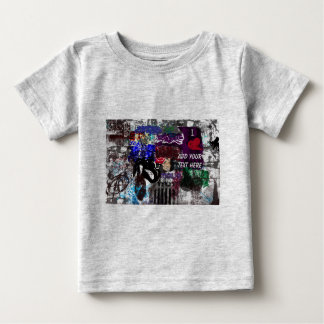 T-skjorta för grafittipersonligspädbarn tshirts