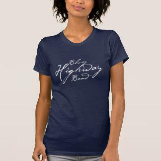 T-skjorta för mörk för damer för tröjor