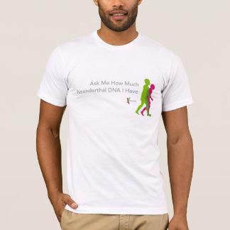 t-skjorta för Neanderthal 23andMe T-shirts