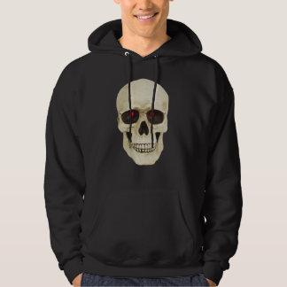 t-skjorta för skalle 3D Sweatshirt Med Luva