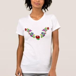 t-skjorta kalocsai, ungrare, broderi t-shirt