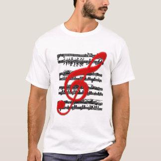 T-SKJORTA-Musikal beteckningssystem T Shirts