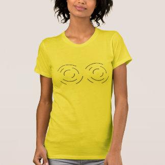 t-skjorta radar, bröst t-shirt