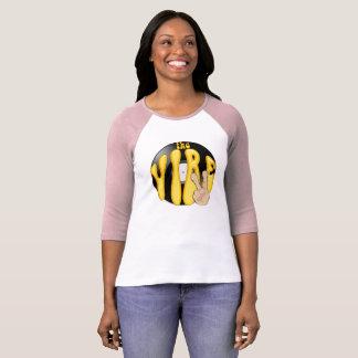T-skjorta viben kvinnlig A3 T-shirts