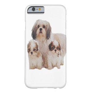 T-skjortor för Shih tsu-valpar Barely There iPhone 6 Skal